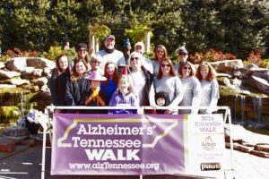 Alzheimers' walk '16 to support anyone and everyone who has to face this disease.